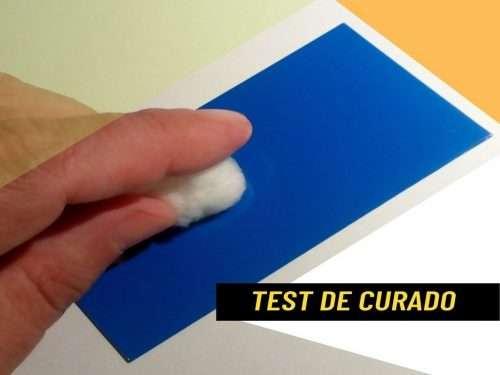 Test el Grado de Curado